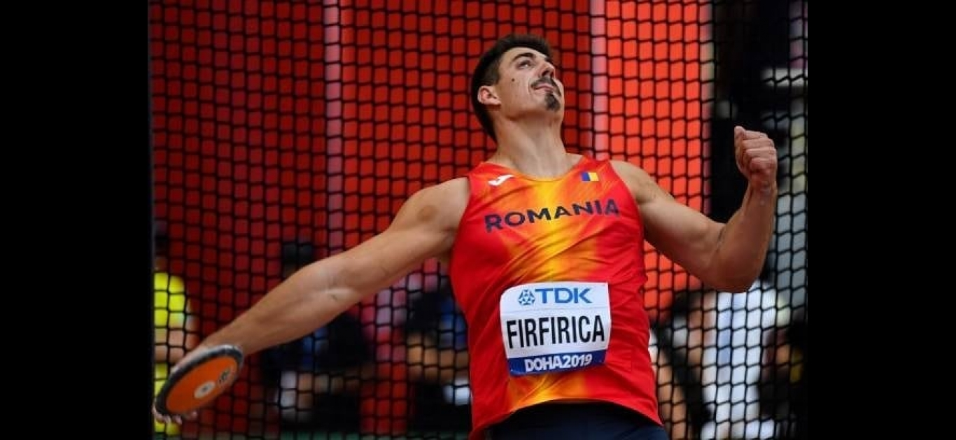 Alin Firfirică: 'I'm planning to make it in the podium at the Olympics in Tokyo throwing with one of these discs'.