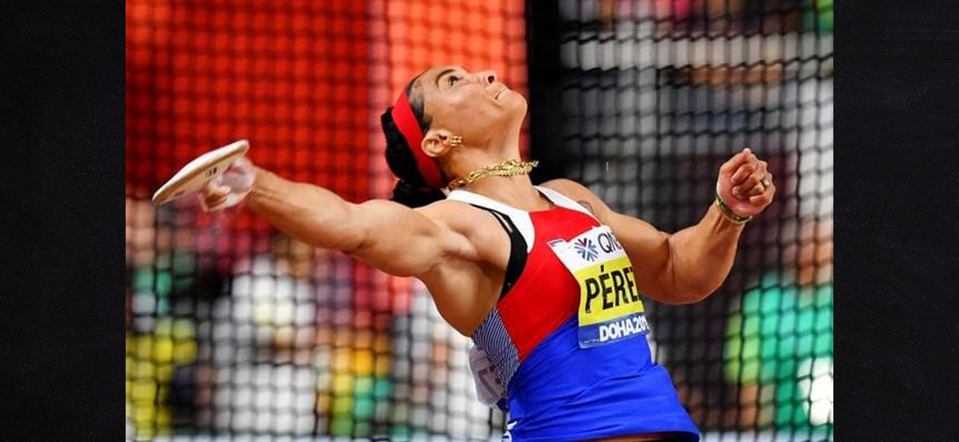Gold Medal for Yaime Pérez at Doha with the ATE Indra Discus