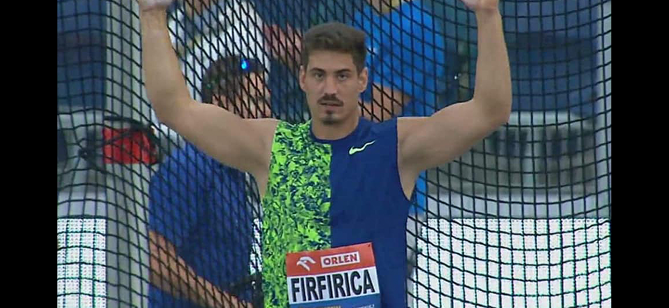 Alin Firfirică breaks his own record with ATE Slo-Spin discus